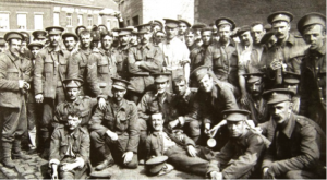 British soldiers in Mons August 1914