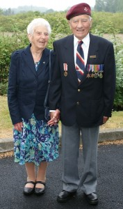 Pat and Barbara Turner on our Second World War Normandy Tour