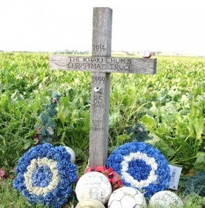The Christmas Truce Memorial Ploegsteert