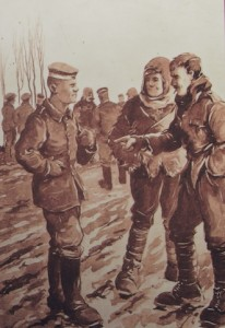 Christmas Truce 1914 by Bairnsfather