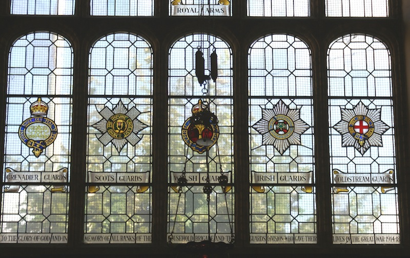 The Guards Window St George's Church