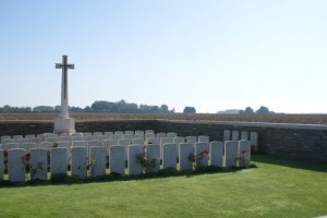 Pals graves at Serre