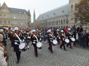 Armistice Day parade Ypres 2014