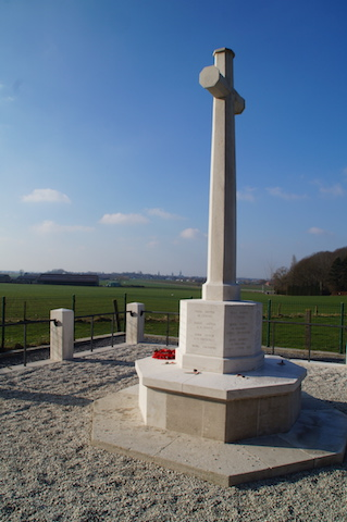 Royal Engineers memorial Railway Wood