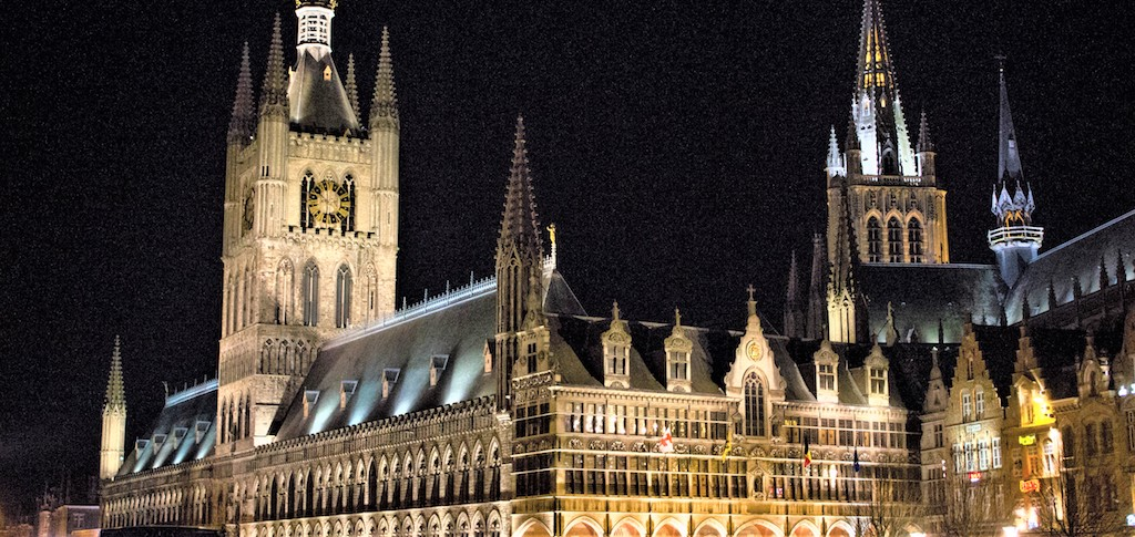 The Cloth Hall and Cathedral