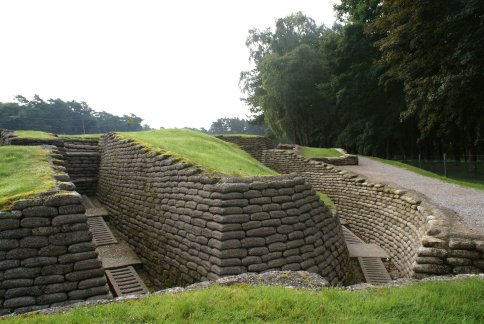Preserved Trenches on Vimy Ridge