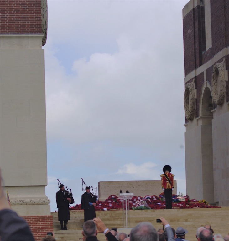 The Somme Centenary Commemoration at Thiepval, 1 July 2016