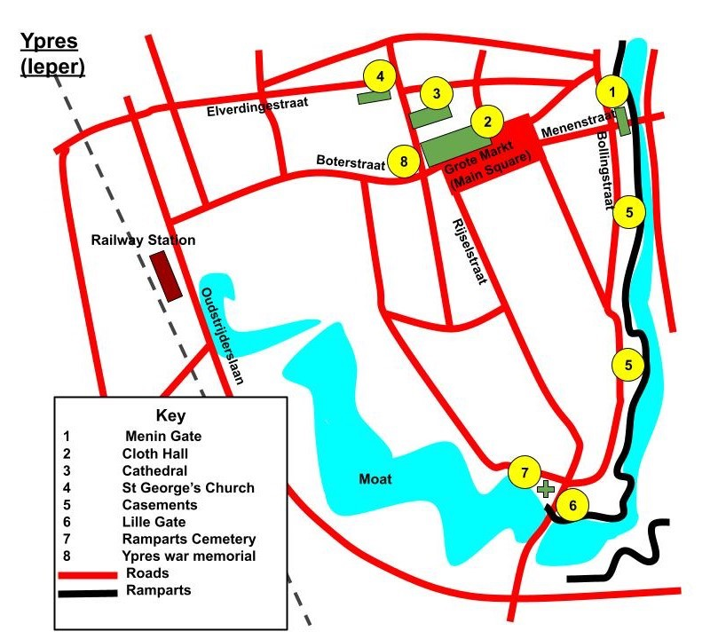 ypres map town